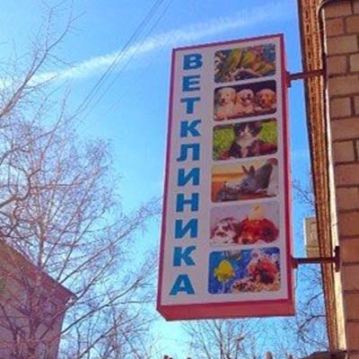 Ветеринарная клиника на ул. красной
